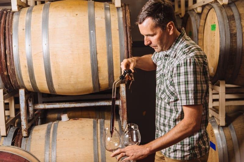 Grochau Cellars, one of the must visit Willamette Valley wineries