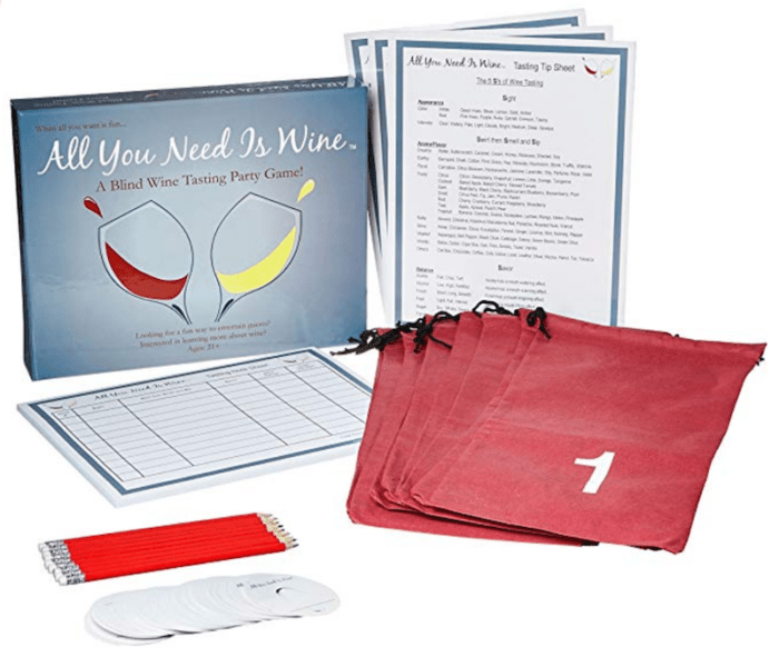 Ultimate Wine Gift Guide - Wine Game Kit