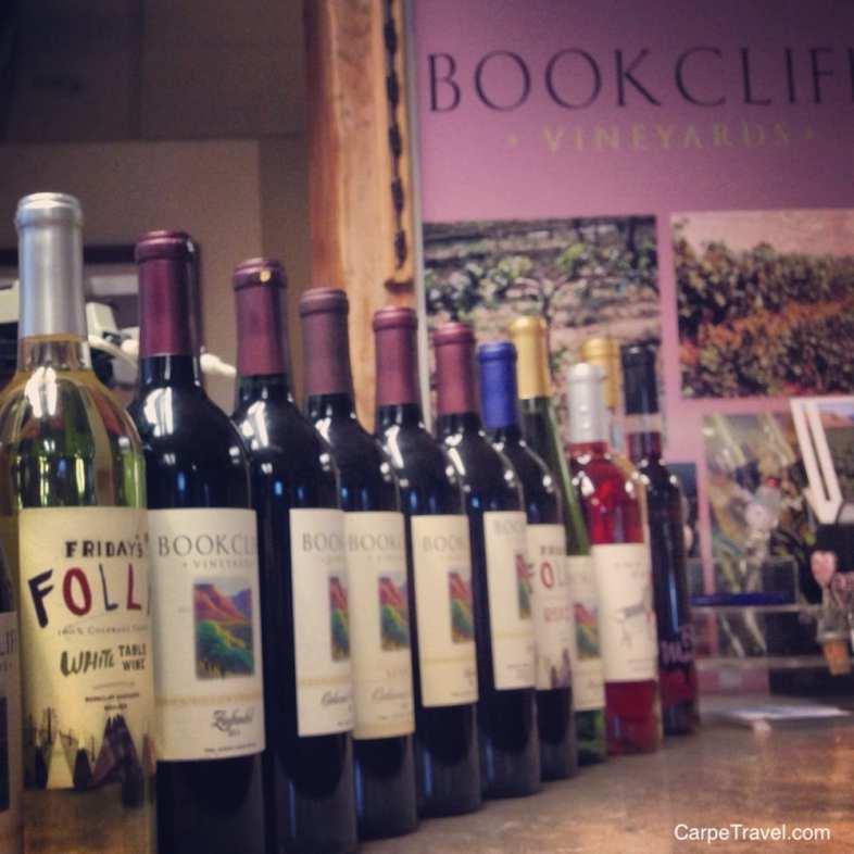 Bookcliff - Colorado Winery