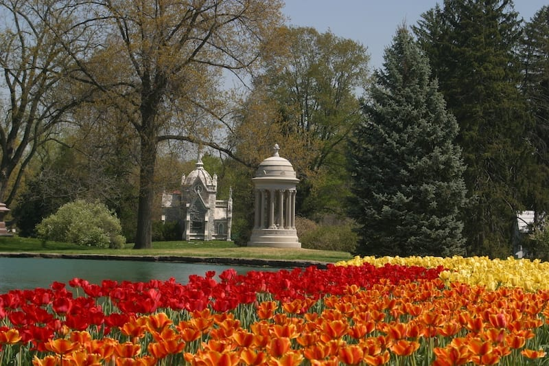 Spring Grove - One of the best Cincinnati attractions to see if you're looking for things to do in Cincinnati.