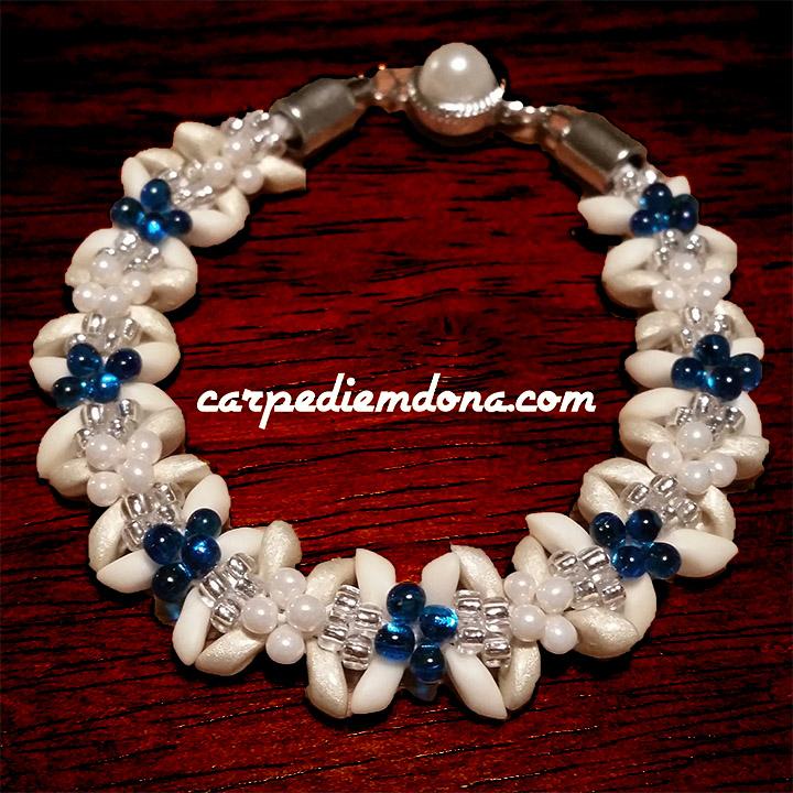Kumihimo-Edelweiss Sensations Bracelet Redux