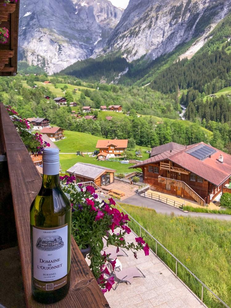 Hotel Glitscherblick Grindelwald Switzerland in Summer