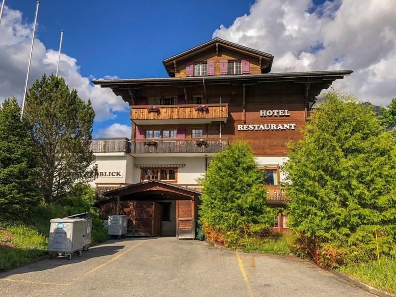 Hotel Glitscherblick Grindelwald