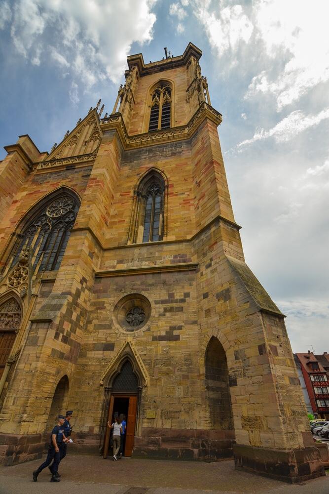 St Martins Church Colmar