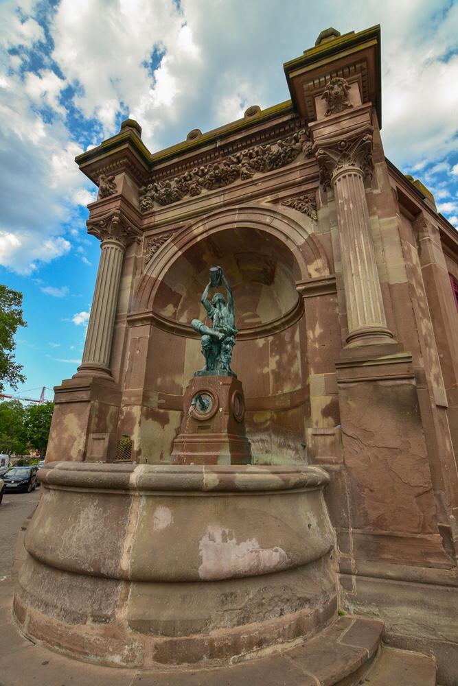 Bartholdi Wine Grower statue