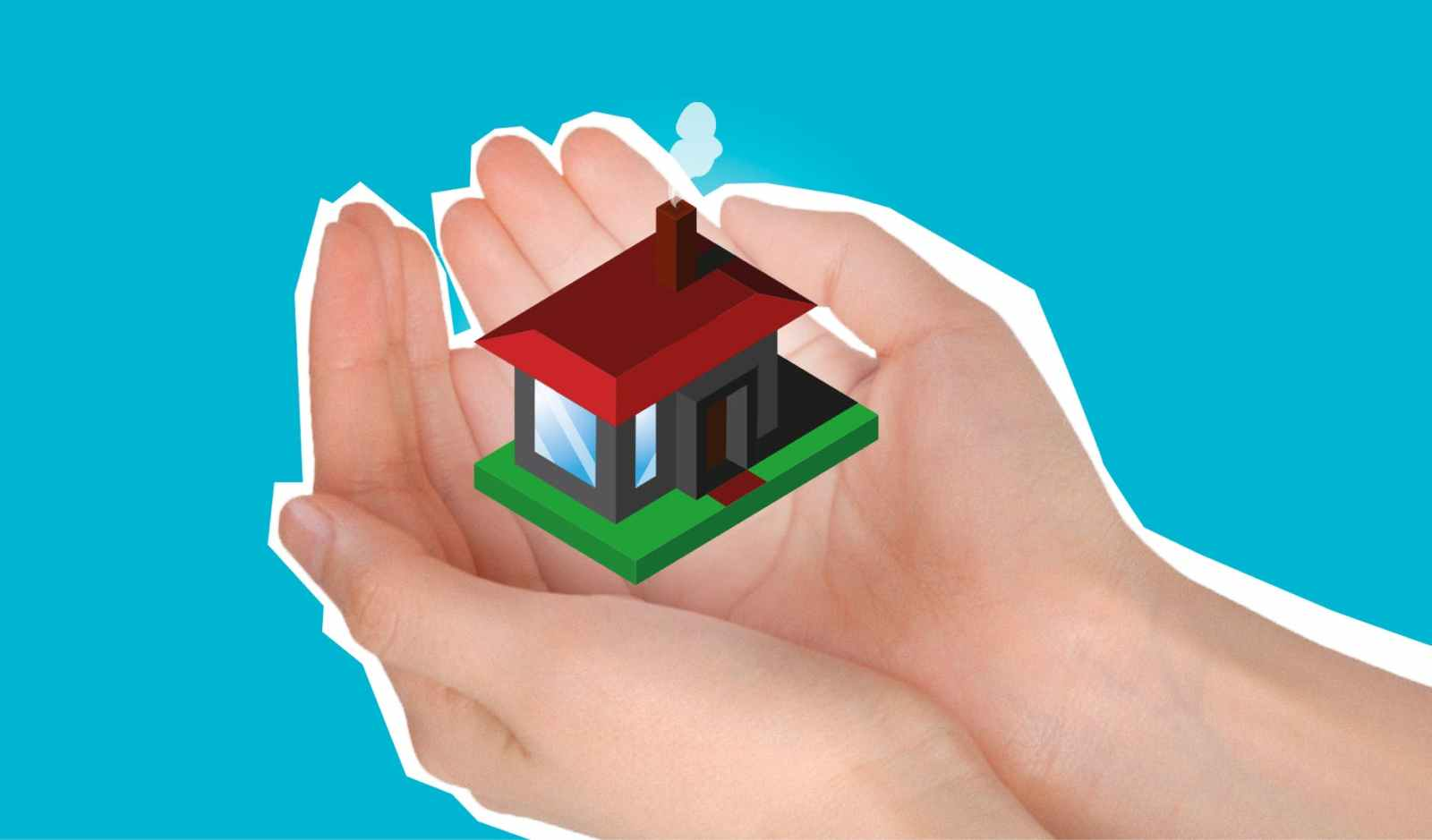 concept of buying house with sale and purchase agreement