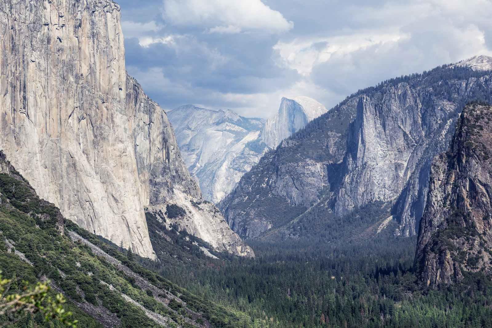 white stone mountains