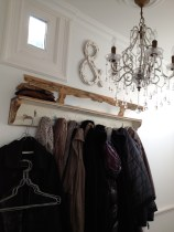 Wardrobe... I like to combine secondhand and new pieces.
