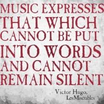 The power of Music - Victor Hugo