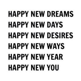Happy New Dreams, Happy New Days, Happy New Year