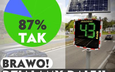 Poprawa bezpieczeństwa na drogach