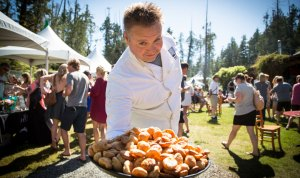 Grazing in the Gardens - Tofino Wine Festival @ Tofino Botanical Gardens   Tofino   British Columbia   Canada