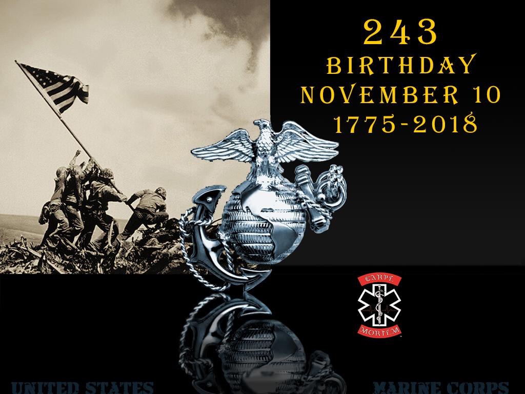 USMC2018 BDAY