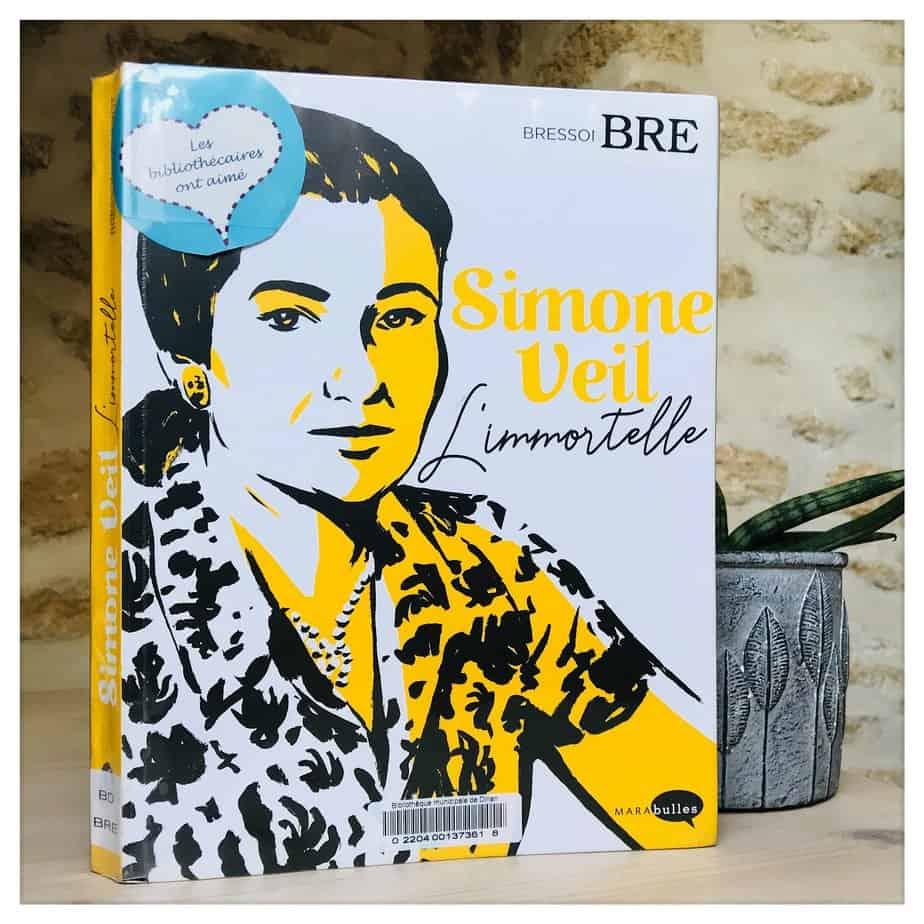 «Simone Veil, l'immortelle», Pascal Bresson et Hervé Duphot, 2918, Marabulles