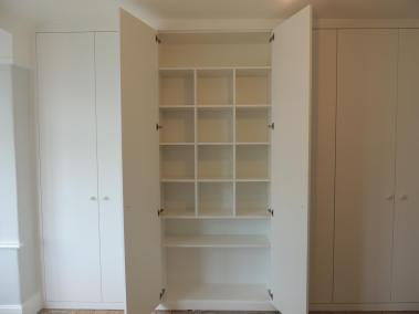 Bespoke Fitted Wardrobe with Internal Shelving