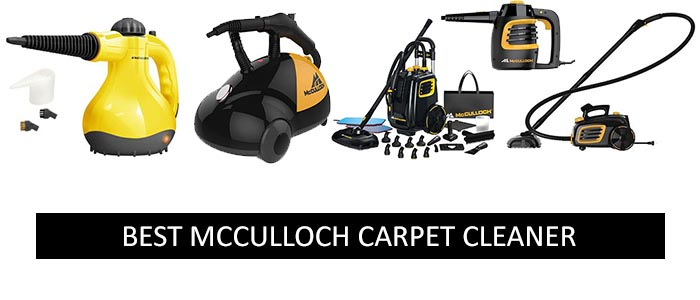 Best McCulloch Carpet Cleaners Best Carpet Cleaners - Best multi use steam cleaner