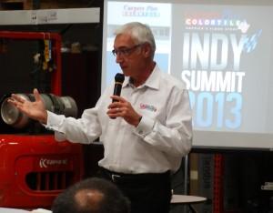 Ron Dunn co-CEO Alliance Flooring, CarpetsPlus COLORTILE