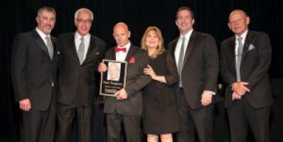 Mark Dougherty receiving the Lifetime Achievement Award