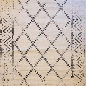 שטיח ברבר שחור לבן 04