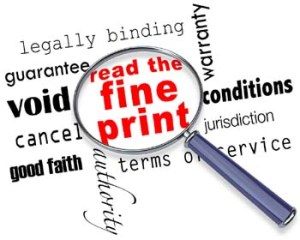 read the carpet warranty limitations