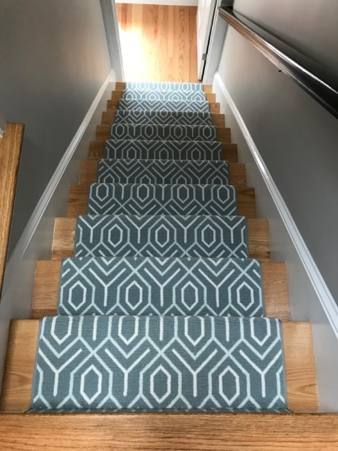 Stair Runners Everything You Need To Know Carpet Workroom | Rug Runners For Steps | Design | Pattern | Black | Hallway | Animal Print