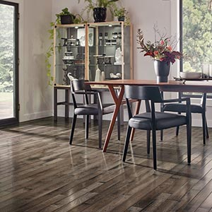Armstrong Hardwood Flooring Dining Rooom