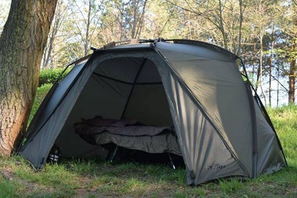 Nash Titan Hide Review (Bivvy Brolly Hybrid)