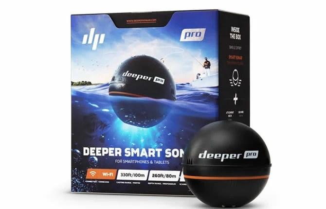Deeper Pro Plus Review 2019 (Best Carp Fishfinder?)