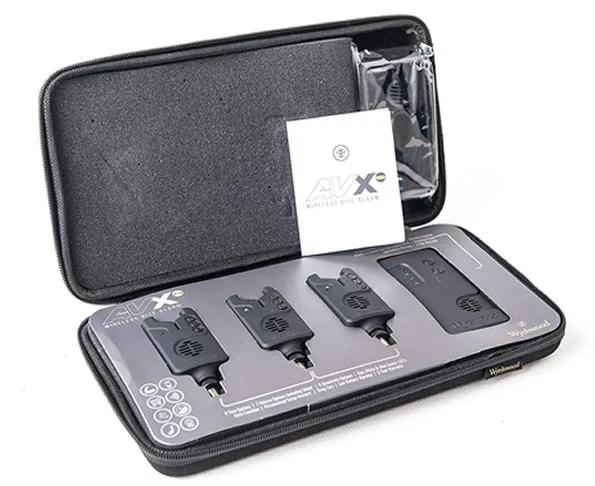 Wychwood AVX-S Fishing Rod Bite Alarm Presentation Set