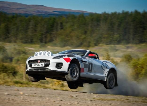 2018 Jaguar F-Type Rally Concept