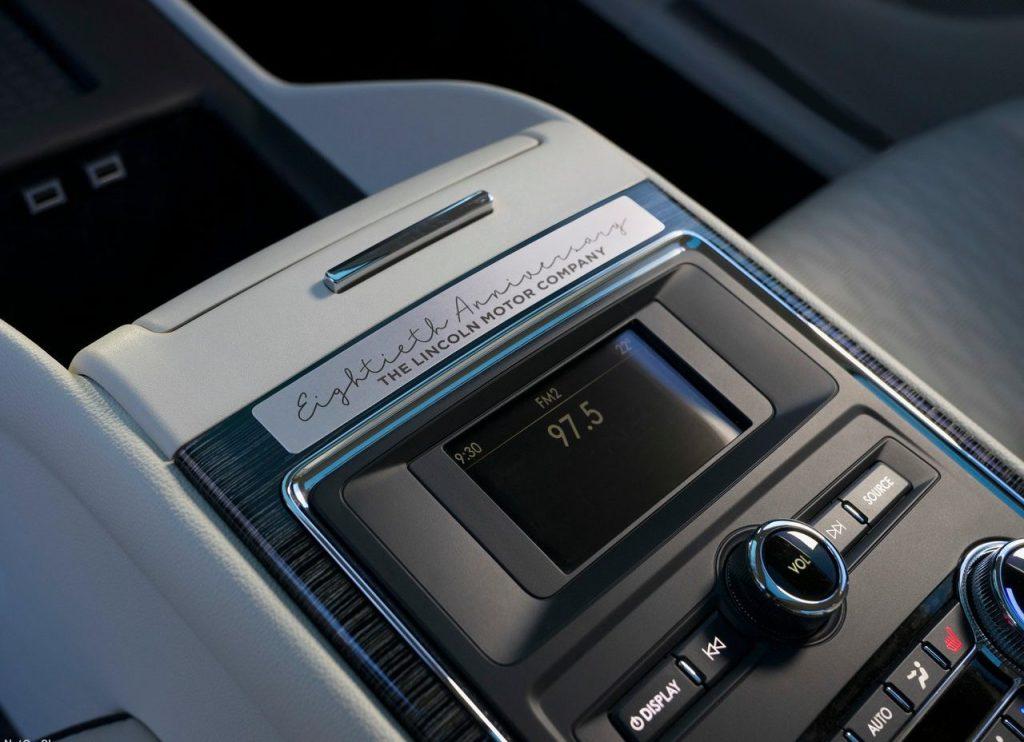 2019 Lincoln Continental 80th Anniversary