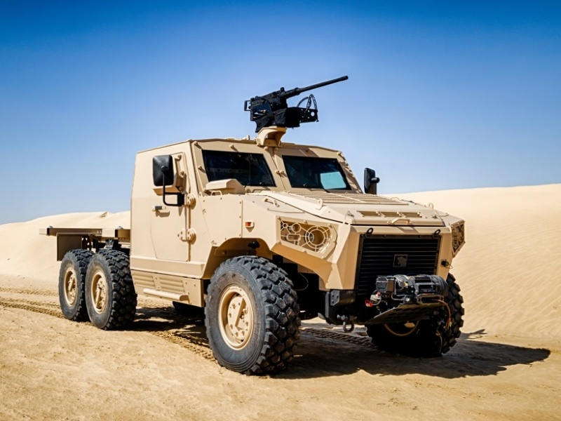 NIMR HAFEET 620A mobile 6x6 protected vehicle