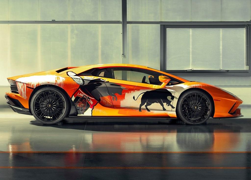 2019 Lamborghini Aventador S by Skyler Grey