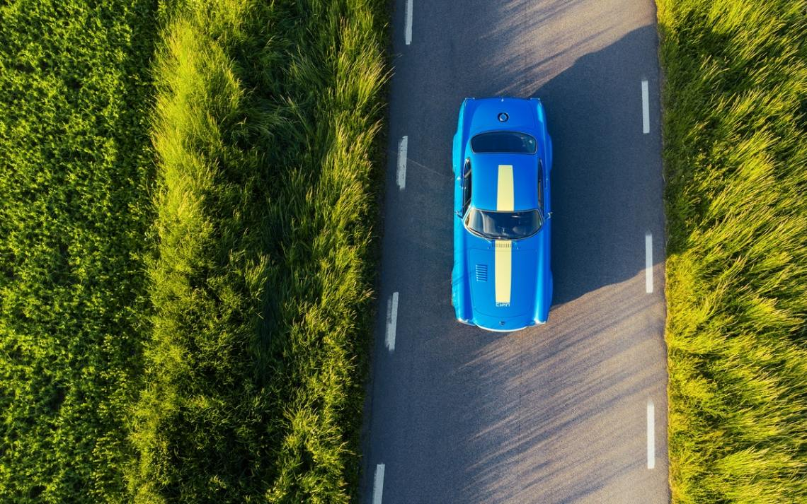 2021 Volvo P1800 Cyan