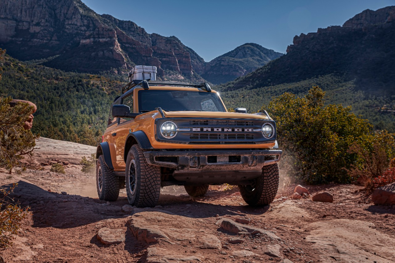 Ford Bronco High-Performance Off-Road Stability Suspension (HOSS)