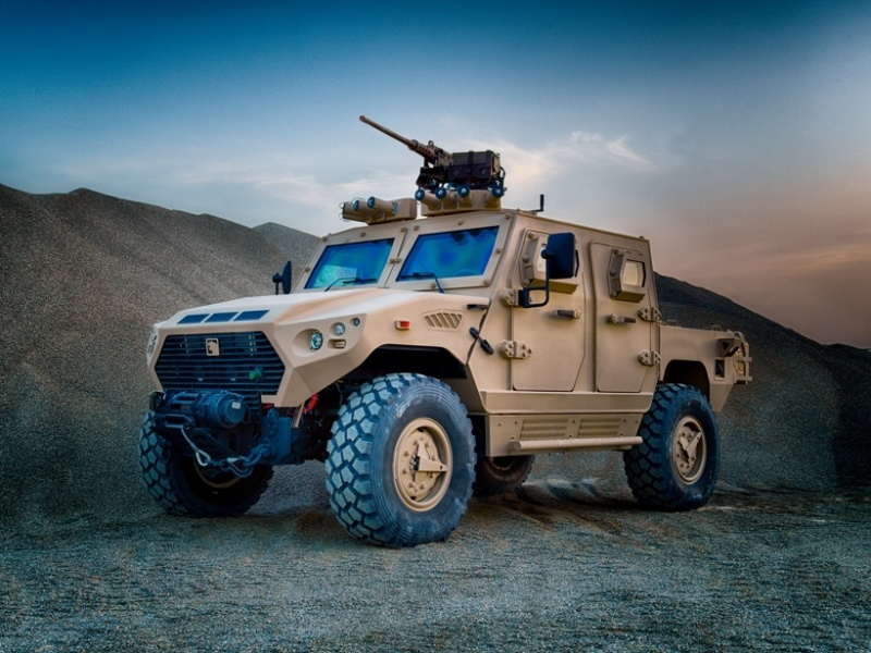 AJBAN 440A mobile 4x4 protected vehicle