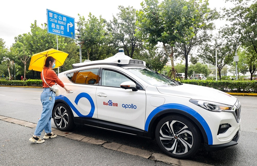 Baidu Opens Apollo Go Ride-Hailing Platform in Shanghai, China