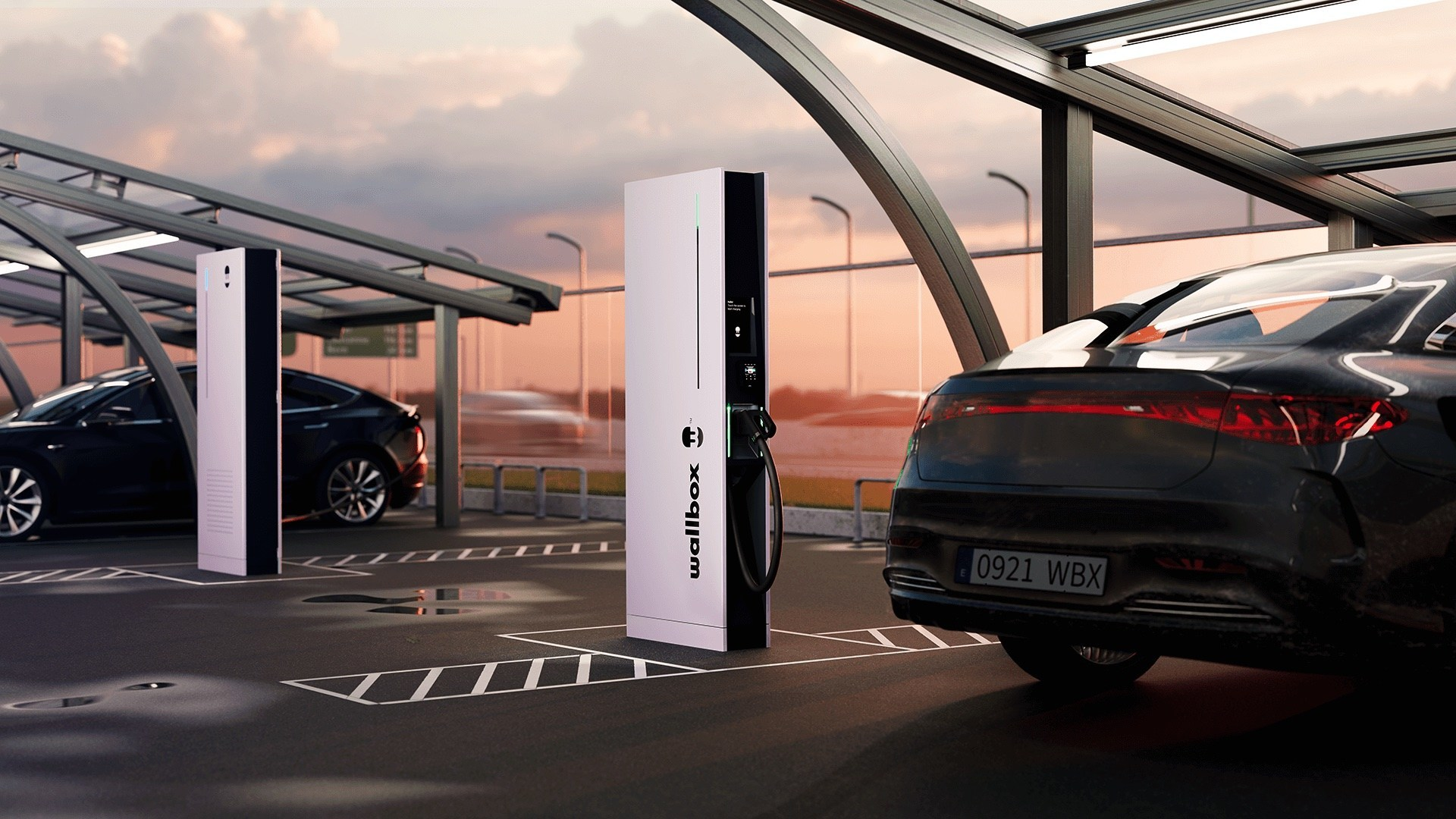 Wallbox Unveils Hypernova Ultrafast Public Charger at IAA MOBILITY 2021 Show