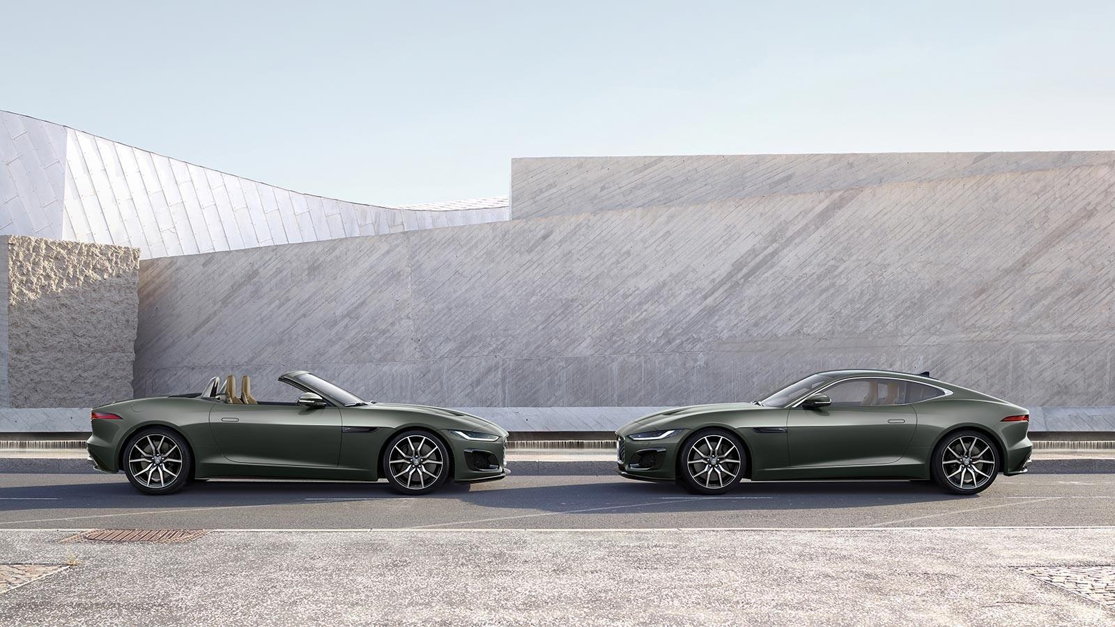 2021 Jaguar F-Type Heritage 60 Edition