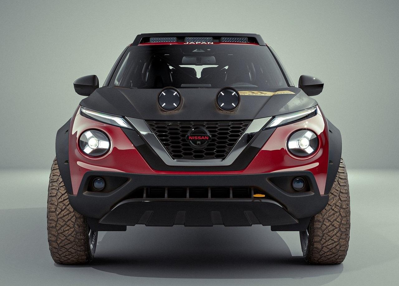 2021 Nissan Juke Rally Tribute Concept