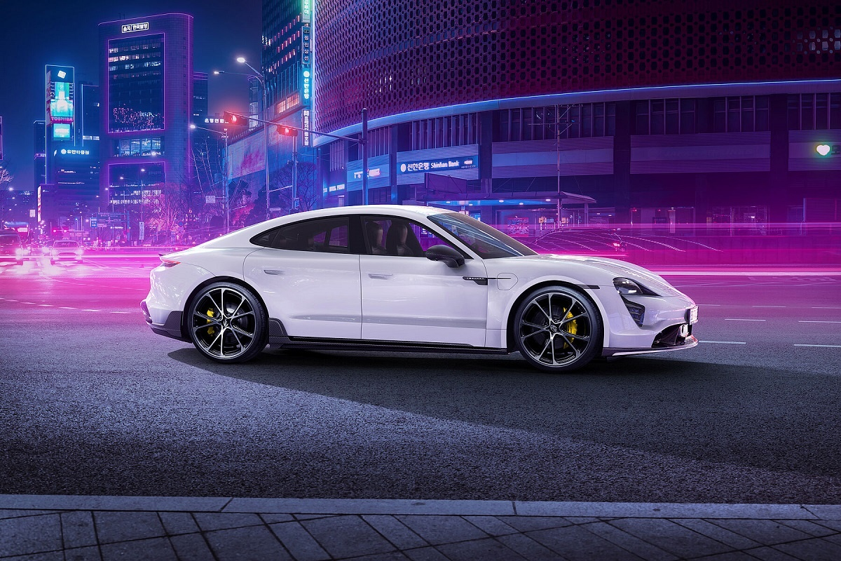 2022 Porsche Taycan with TechArt Package