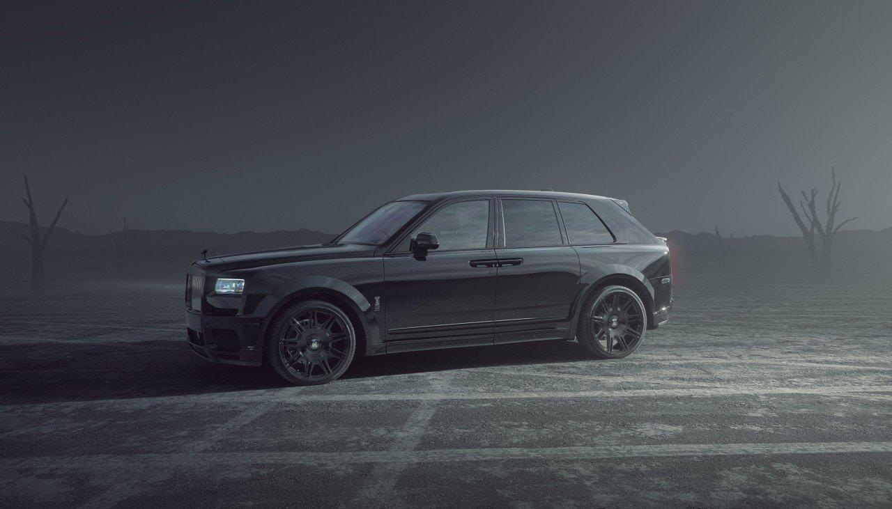 2022 Rolls-Royce Cullinan Black badge by Spofec