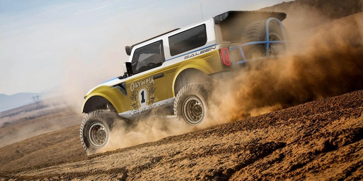 2022 Ford Bronco Saleen Bronco