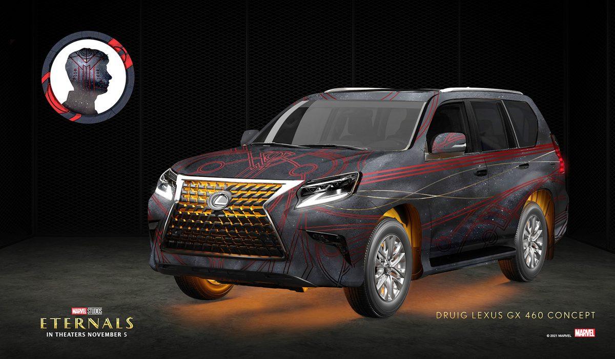 Druig x Lexus GX 460   Lexus/Marvel Studios