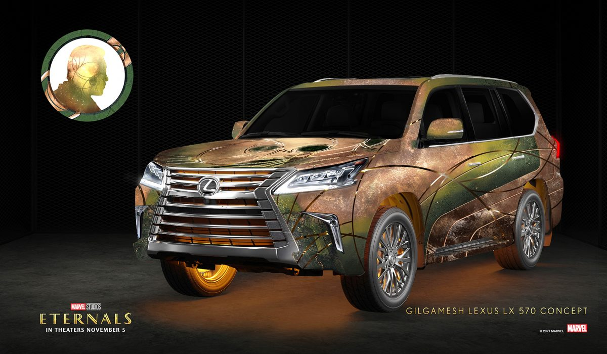 Gilgamesh x Lexus LX 570   Lexus/Marvel Studios