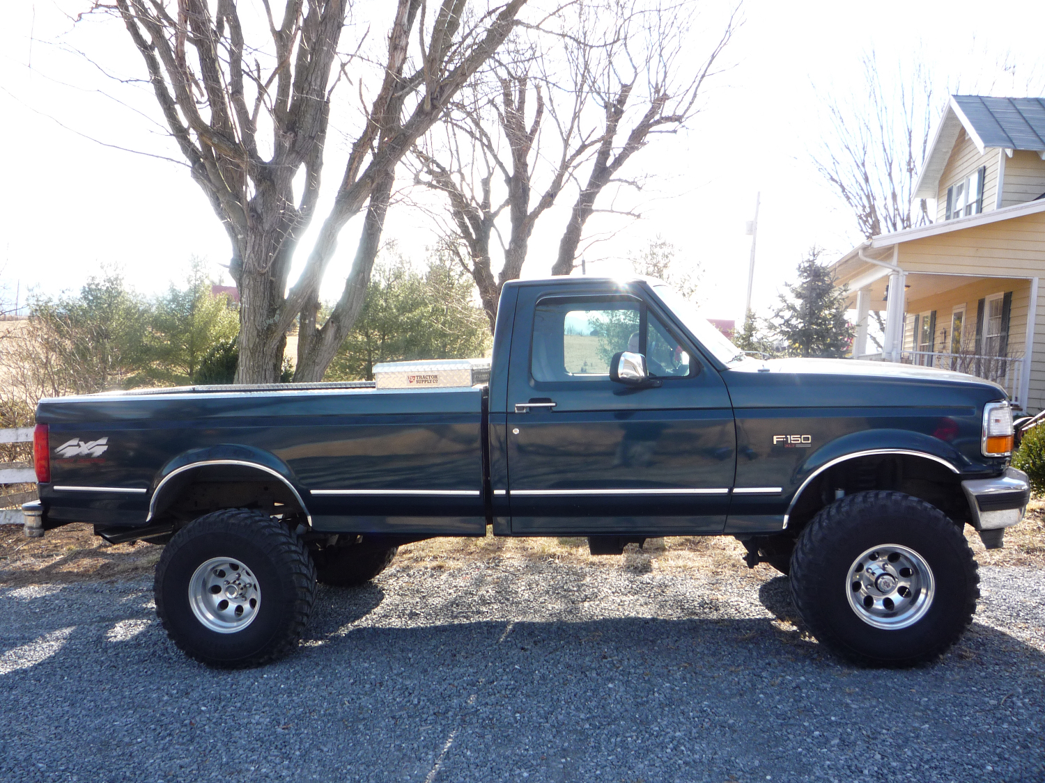 1990 Ford Suspension Inch Body Lift 4 250 4x4 Inch 2 Lift F