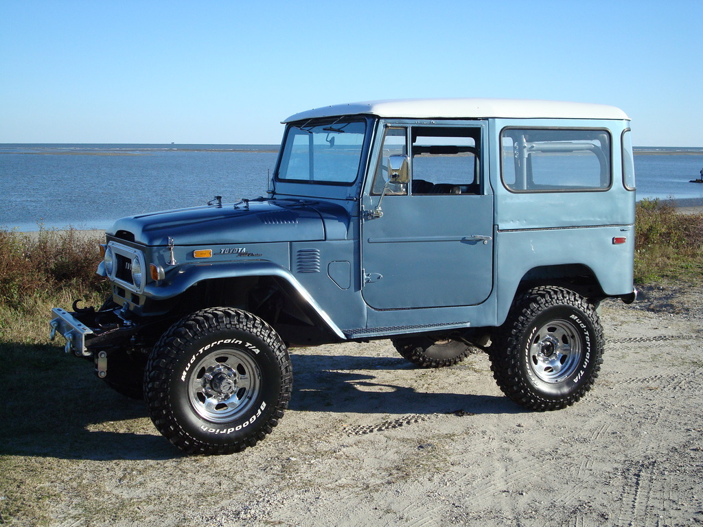 Gman09 1972 Toyota Land Cruiser Specs Photos