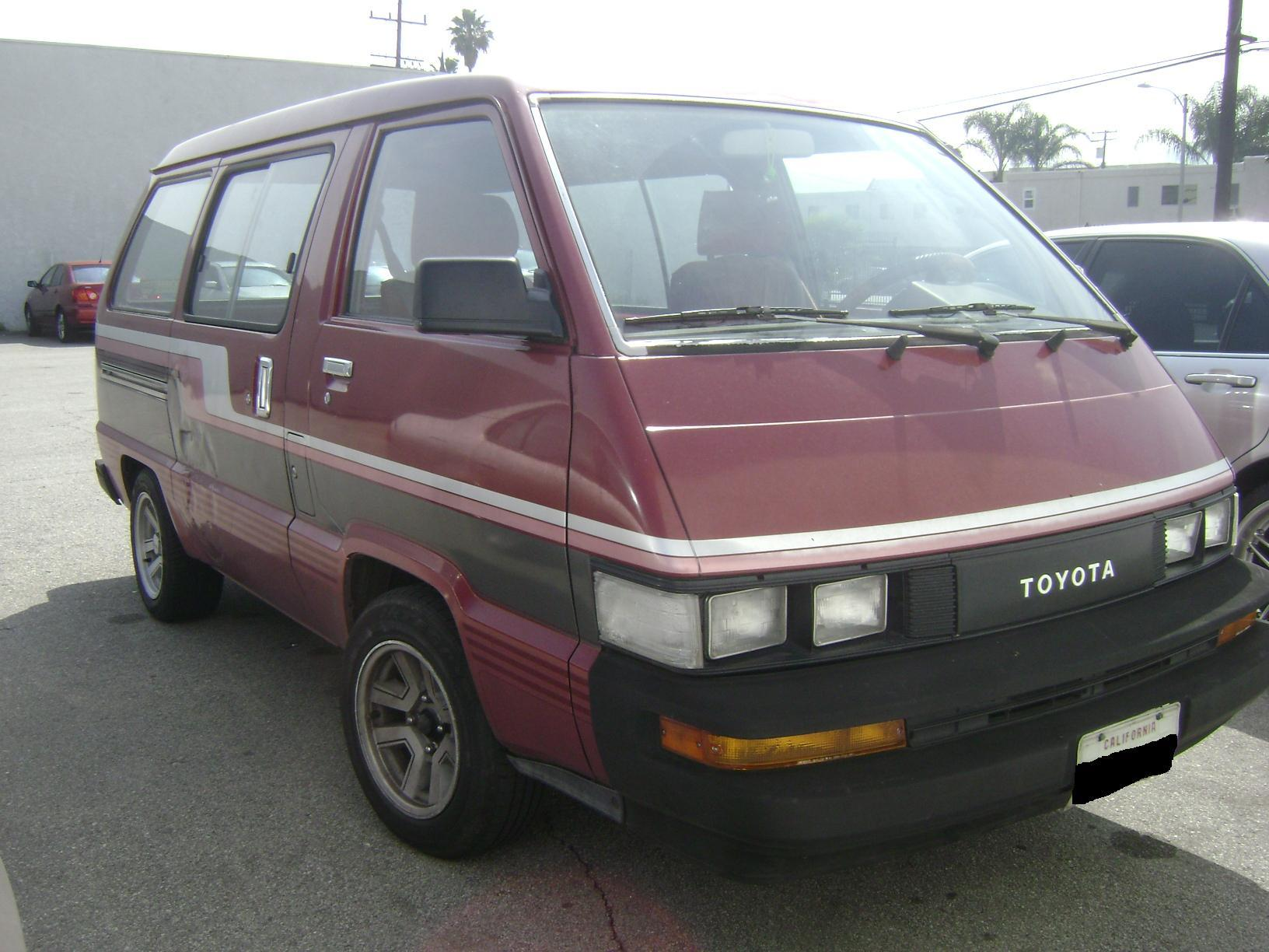 jp smooth 1987 Toyota Van Specs s Modification Info at