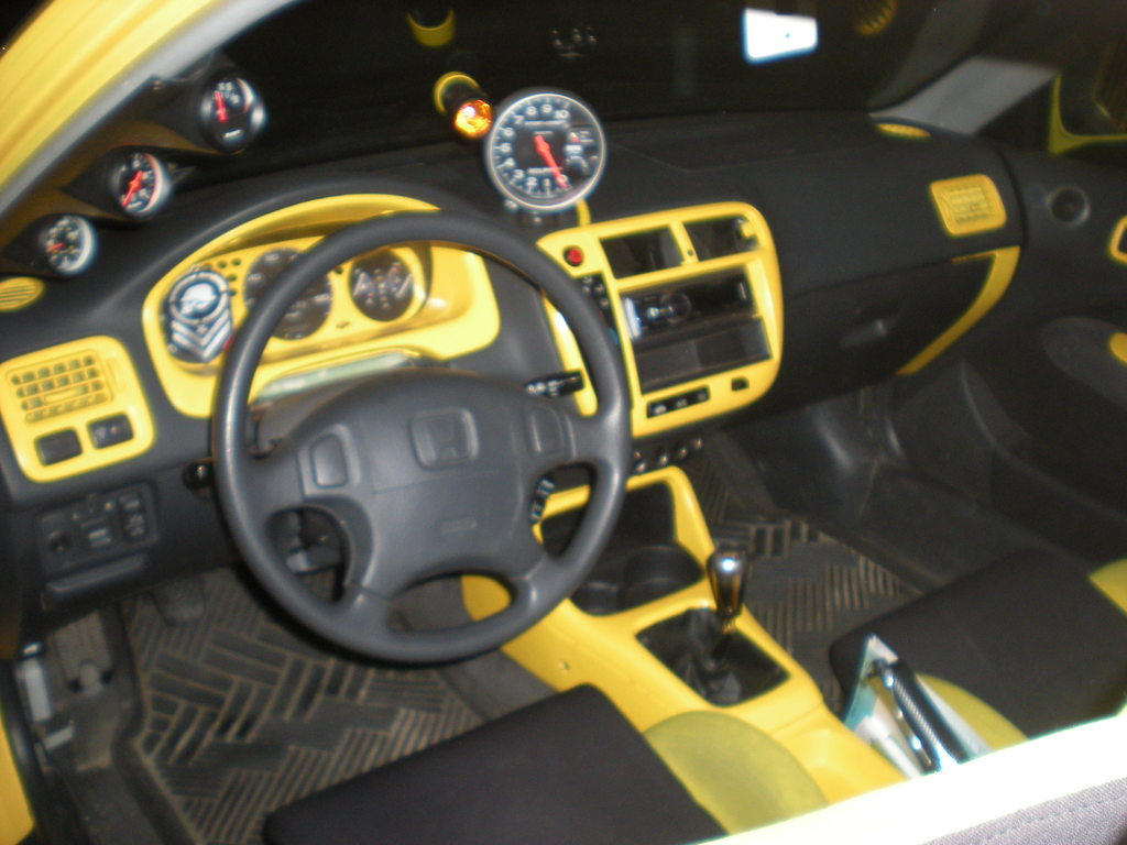 Honda civic custom interior parts for Aftermarket car interior parts