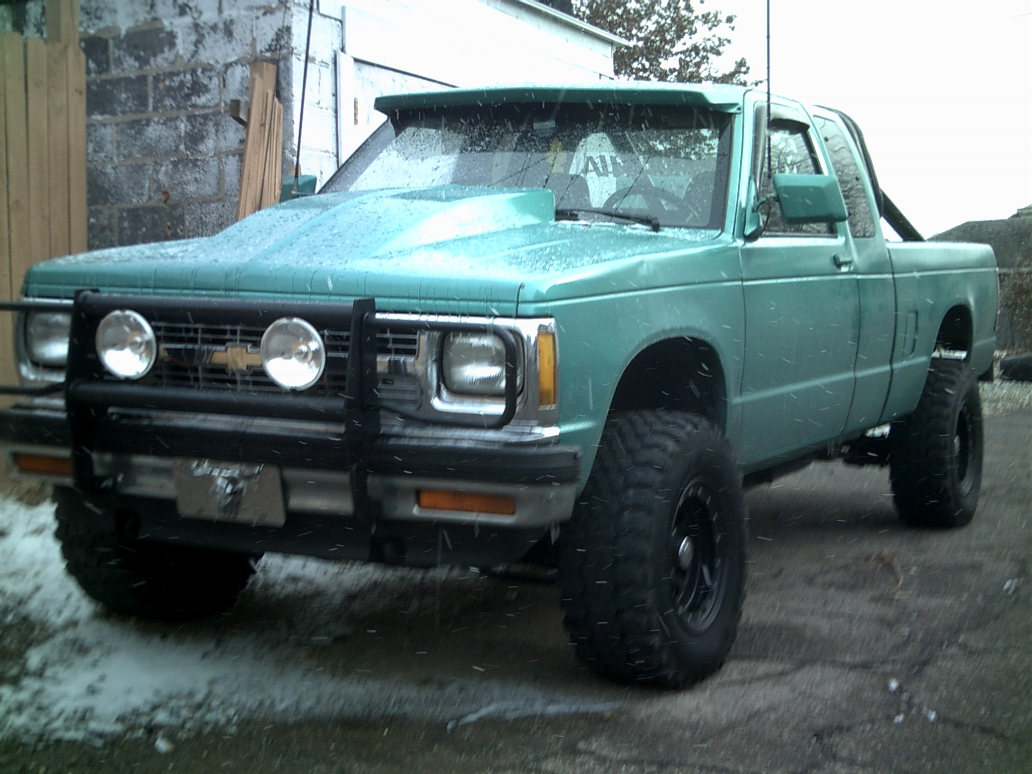 1991 chevy s10 weight